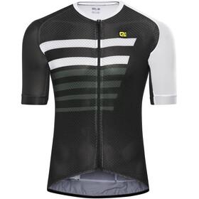 Alé Cycling PRR 2.0 Piuma Kortärmad cykeltröja Herr vit/svart